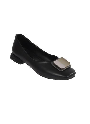 Mhd 123 Siyah Kadın Günlük Ayakkabı Siyah